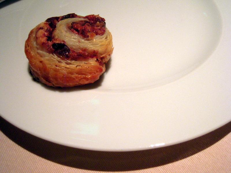 tiny olive pastry