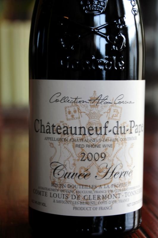 2009 Comte Louis de Clermont-Tonnerre (Alain Corcia) Châteauneuf du Pape Cuvée Hervé