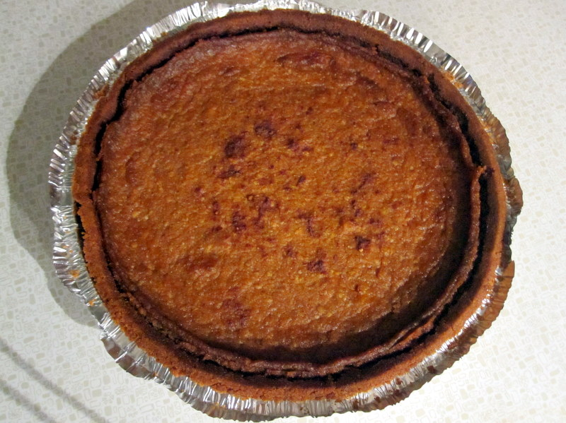 PPO3:  French pumpkin and tofu pie, vegan style