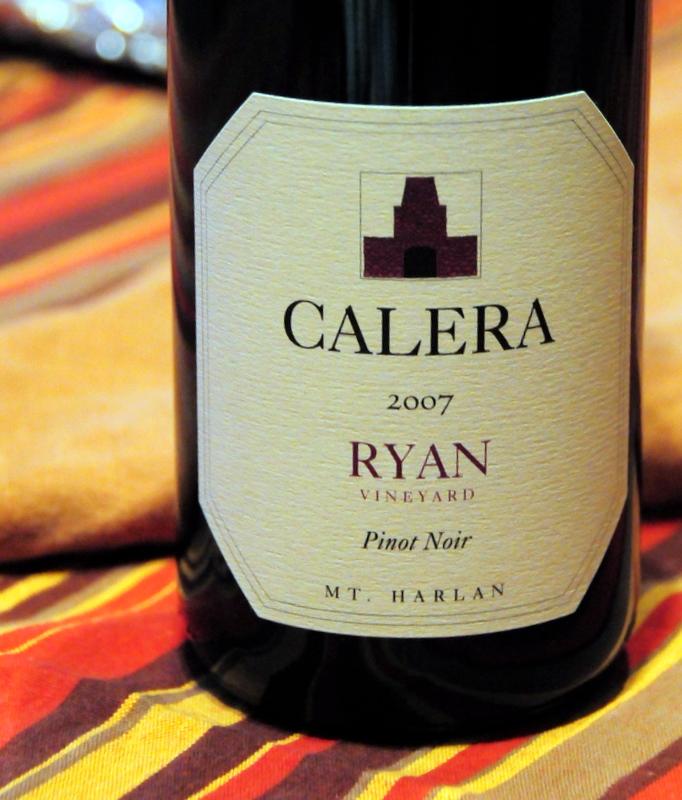 2007 Calera Mt. Harlan Pinot Noir Ryan Vineyard