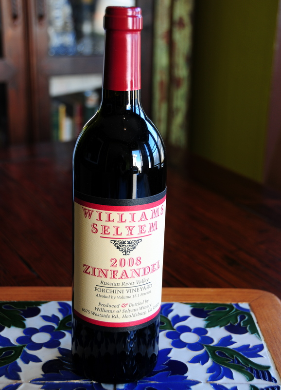 2008 Williams Selyem Russian River Valley Zinfandel Forchini Vineyard