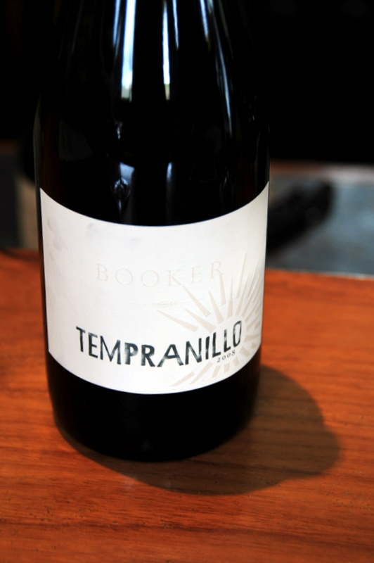 Booker Tempranillo
