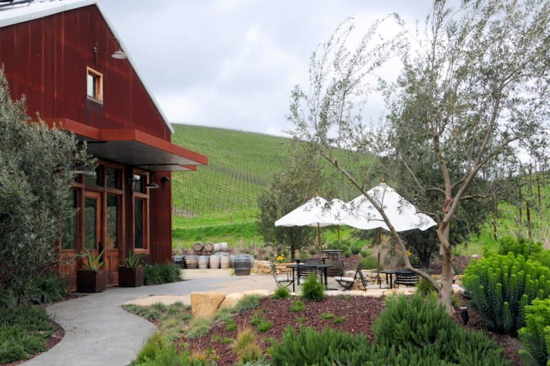 Booker Vineyard tasting room