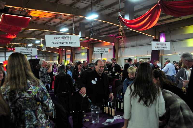 inside the 19th Annual Paso Robles Zinfandel Festival