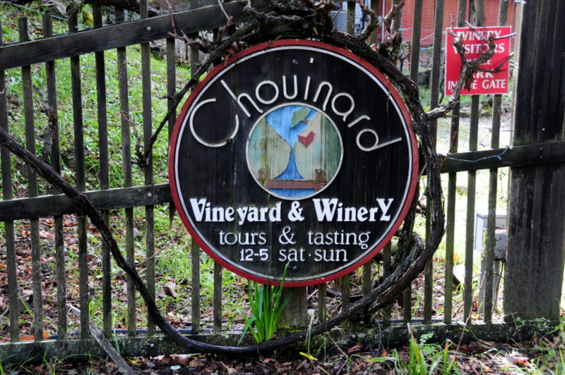 welcome to Chouinard Vineyards