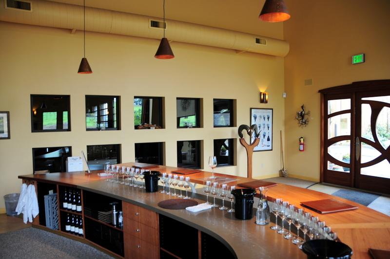 Denner tasting room interior