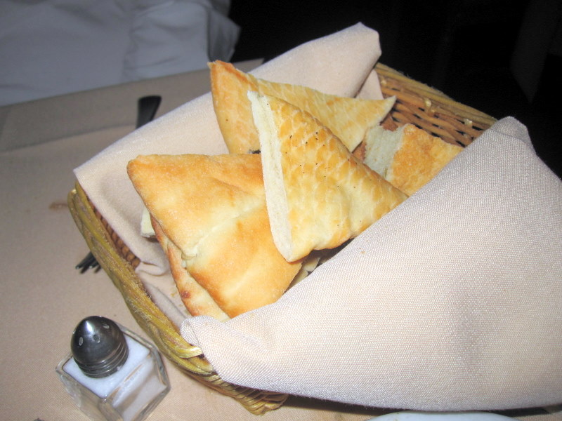 I really enjoyed the bread at Saha