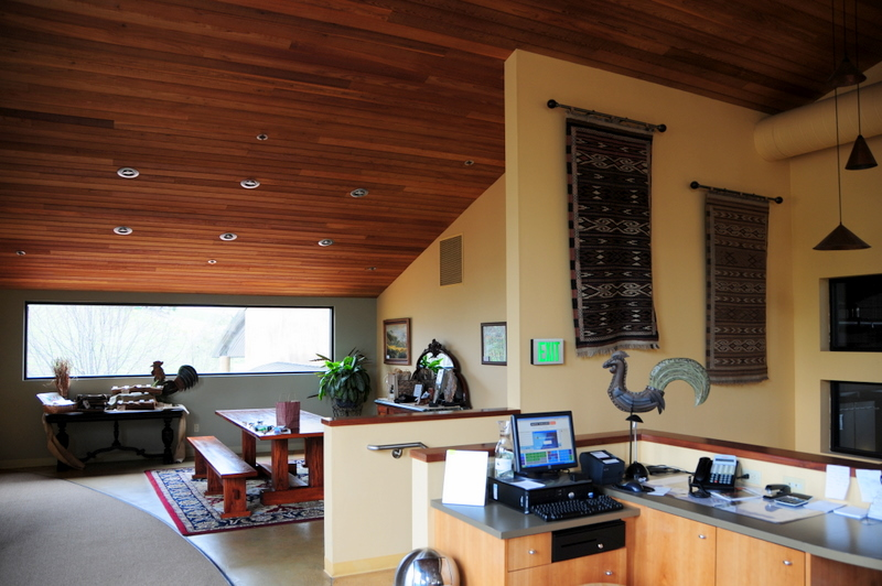 another view of the Denner tasting room