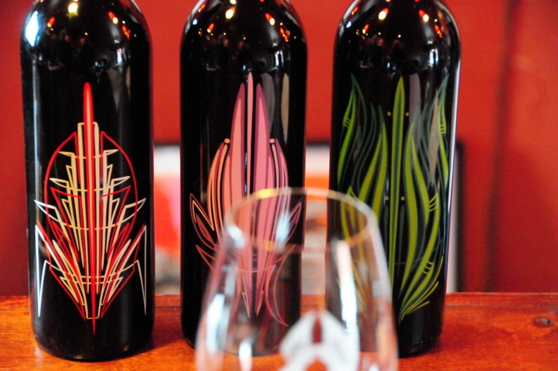 flashy bottles of Brian Benson Kandy Red