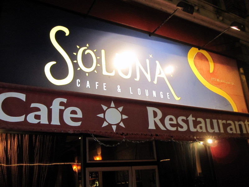 welcome to Soluna Cafe and Lounge