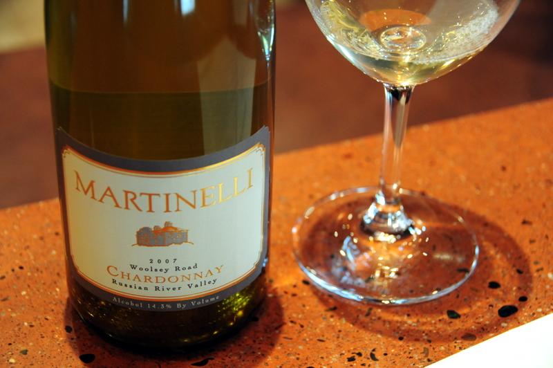 2007 Martinelli Woolsey Road Chardonnay