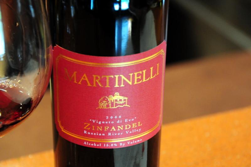 2008 Martinelli Vigneto di Evo Zinfandel
