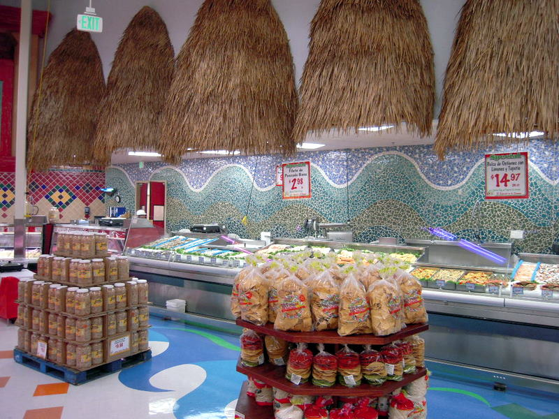 Mi Pueblo seafood section