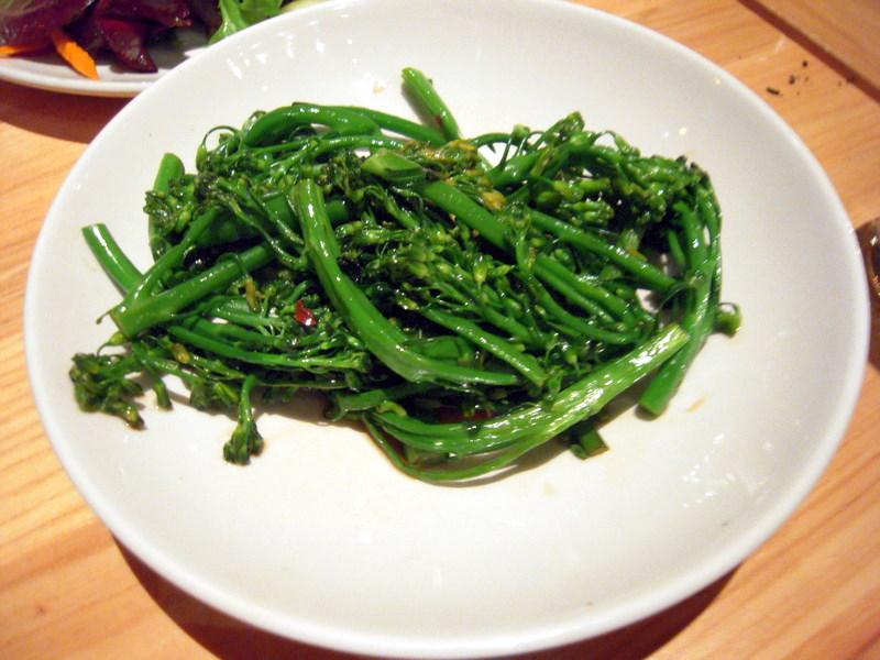 tender sauteed broccoli