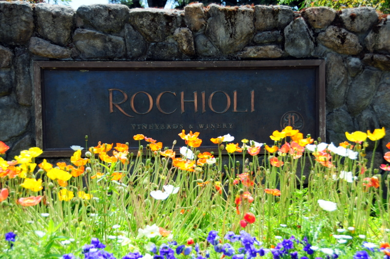 welcome to Rochioli Vineyards and Winery