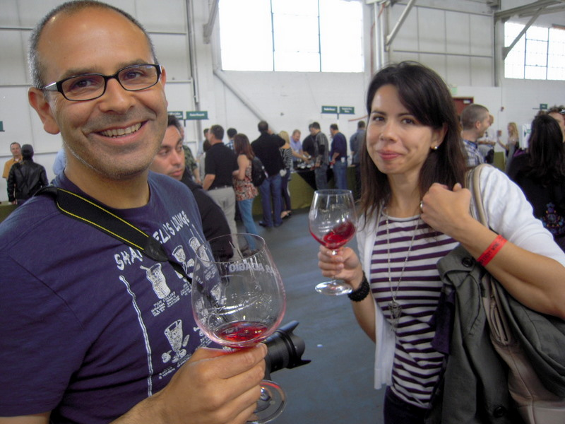 Hegui, Chris and Juliana at Pinot Days
