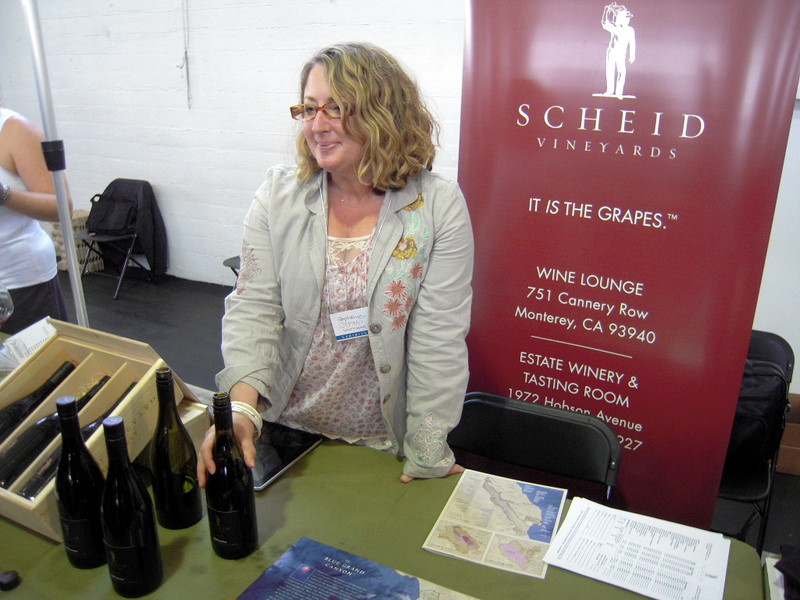 Stefani from Scheid Vineyards