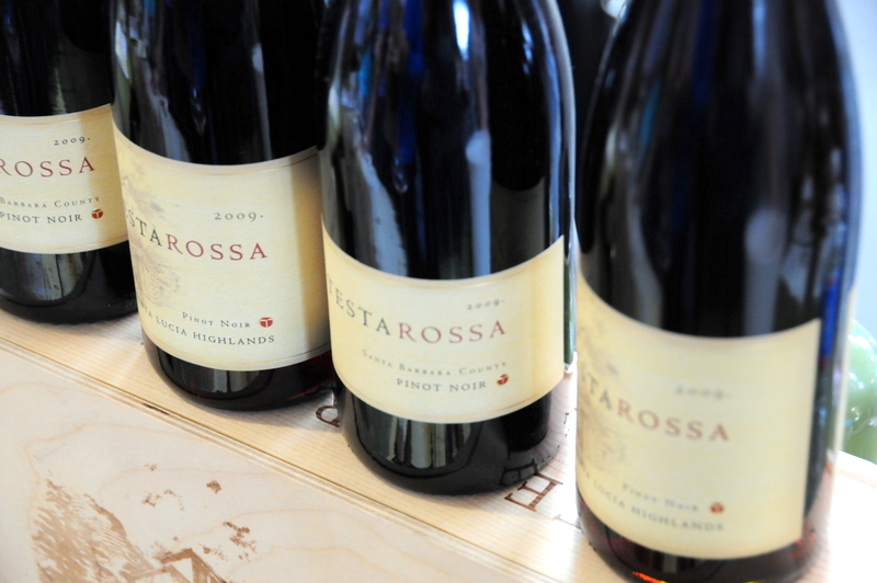 Testarossa pinots were a hit with us