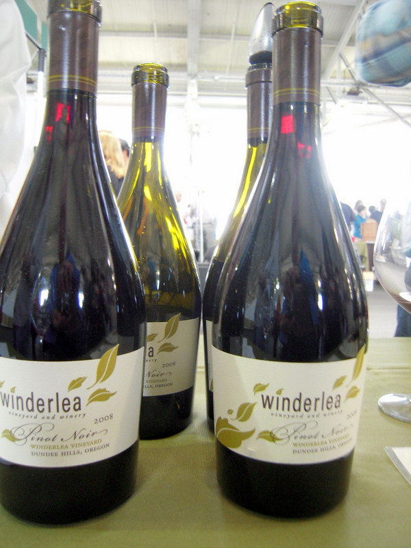 Winderlea from Dundee Oregon had some exciting pinots