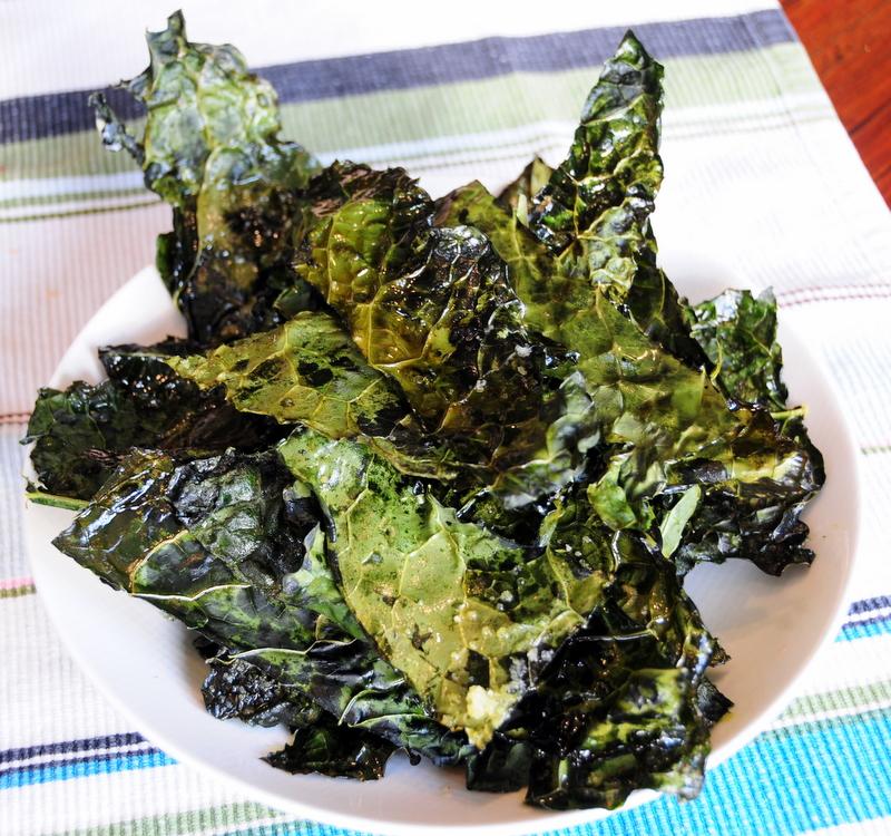 dinosaur kale chips