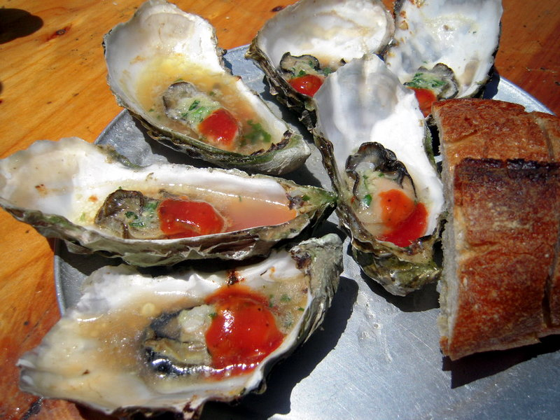 large barbecue oysters