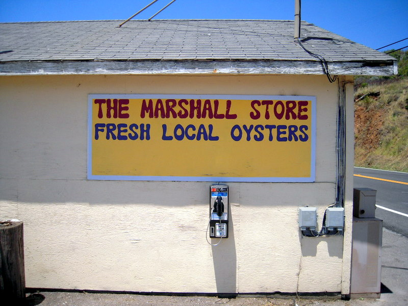 welcome to The Marshall Store, and no, that pay phone doesn't work