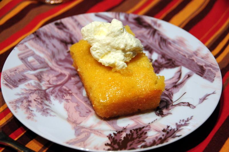 basbousa  semolina almond cake