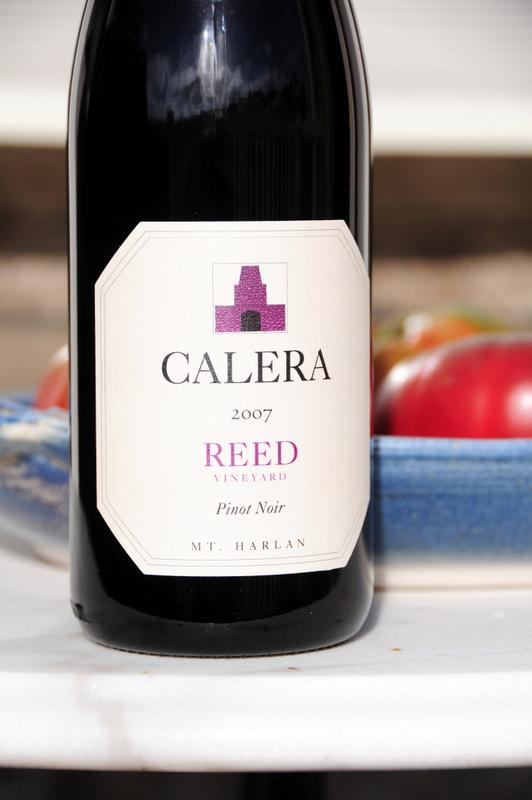 2007 Calera Pinot Noir Reed Vineyard