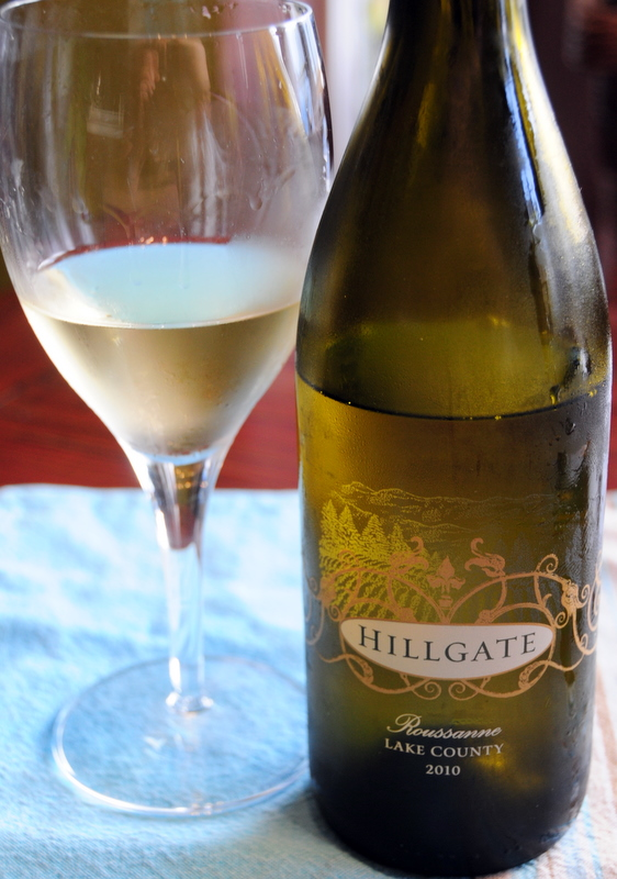 2010 Hillgate Roussanne Lake County