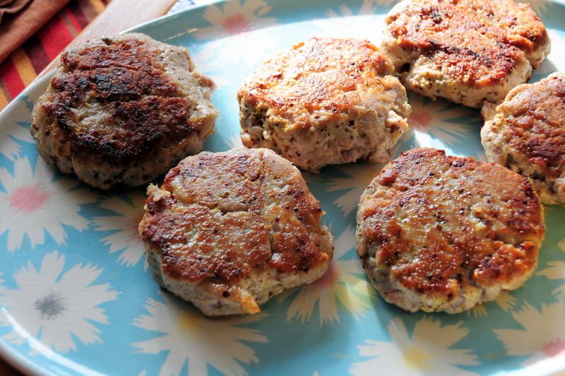 Martha's pan-seared tuna burgers