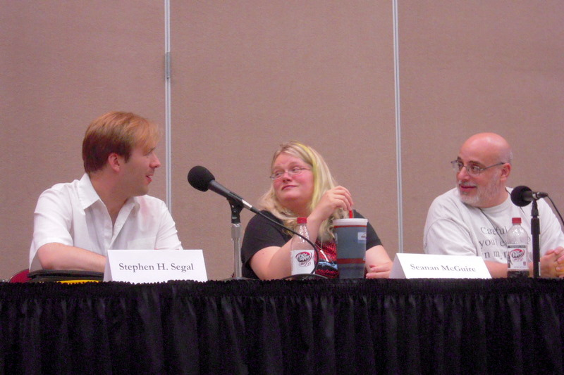 part of the zombie panel
