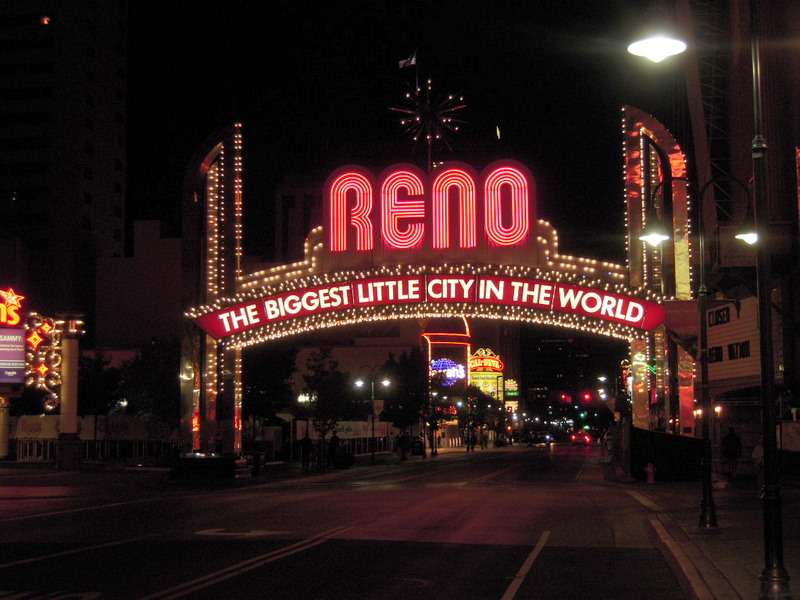 welcome to Reno, the Biggest Little City in the World