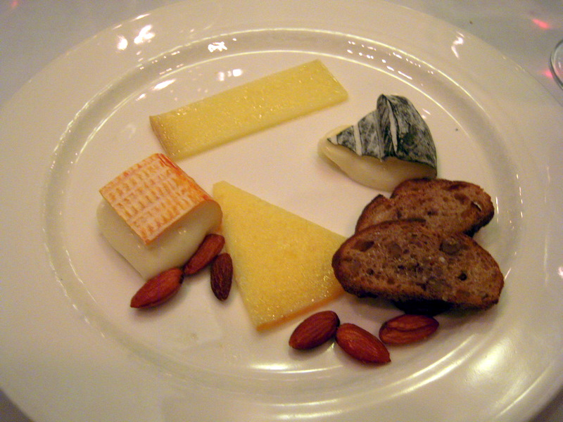 four cheese dessert dish