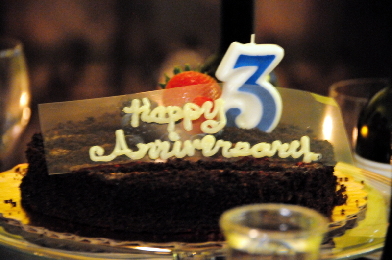 Image Gallery happy 3rd anniversary cakes