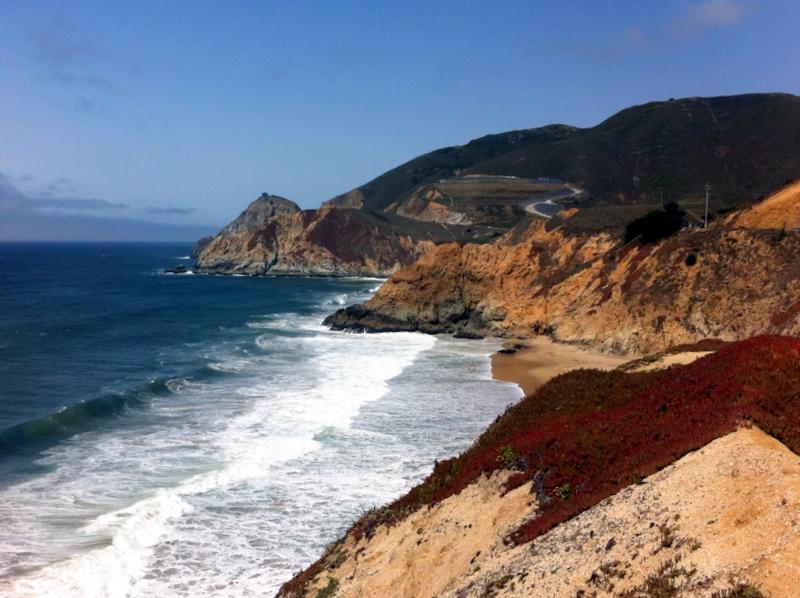 California coast along Highway 1