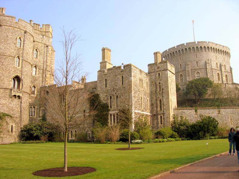 Windsor Castle, formerly an imperial home of the British Emperor