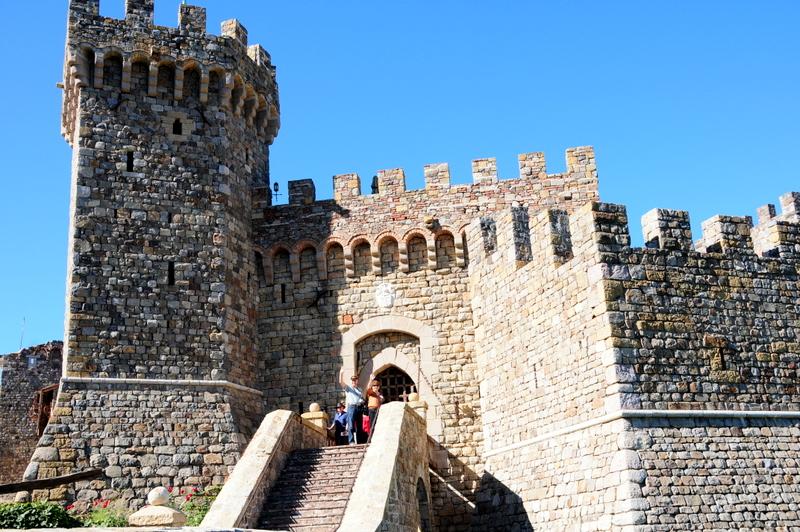 the grand castle entrance