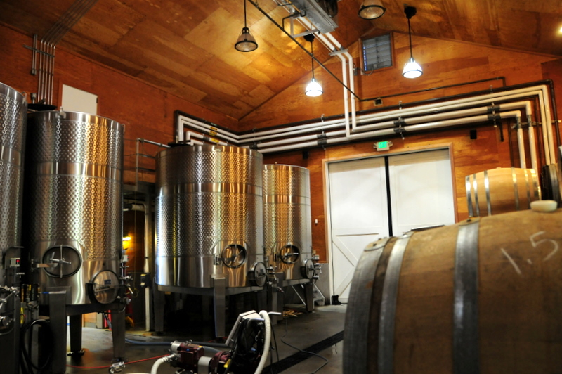 Robert Young winery interior