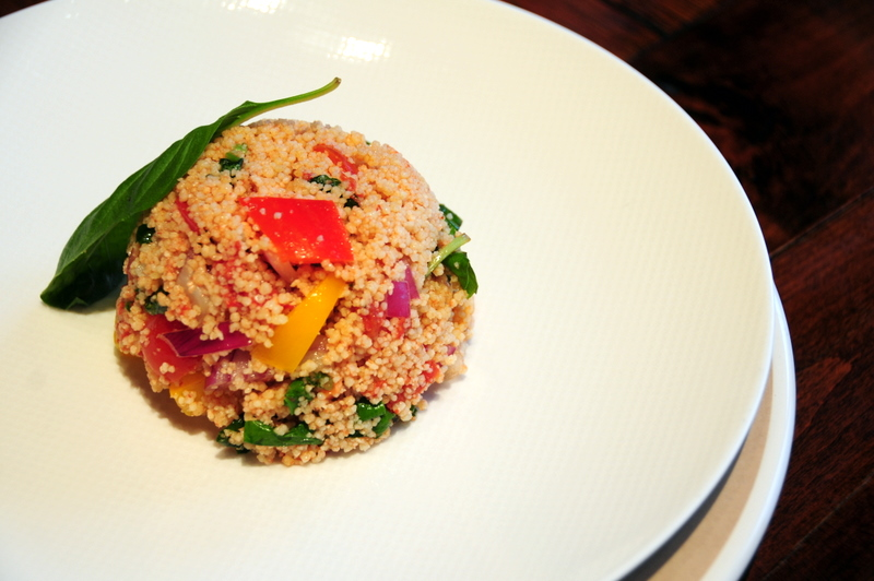 chilled summer couscous