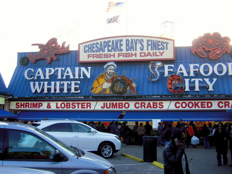 Captain White's Seafood City