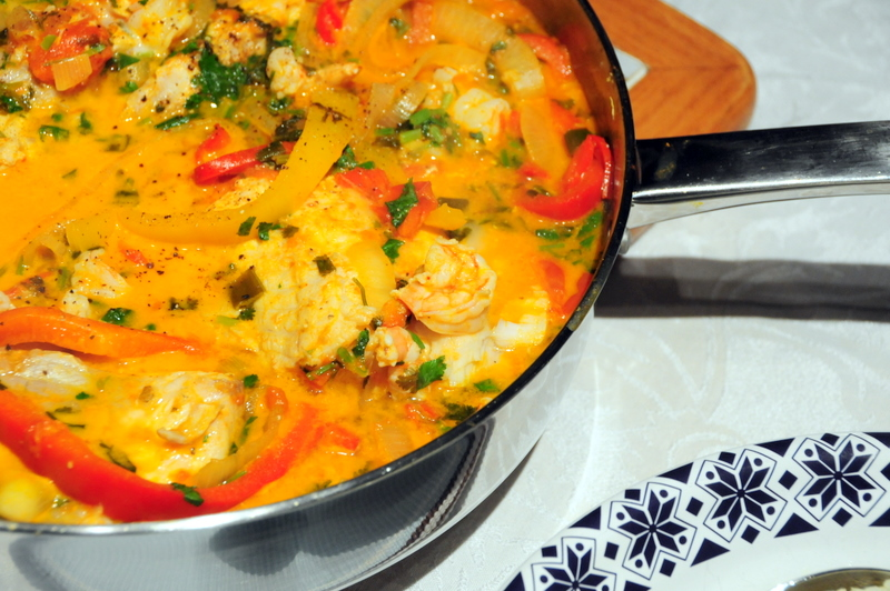 moqueca baiana AKA Bahian fish stew