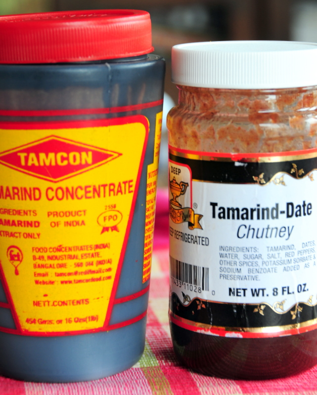 tamarind  concentrate and tamarind date chutney