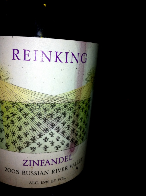 2008 Reinking Russian River Valley Zinfandel