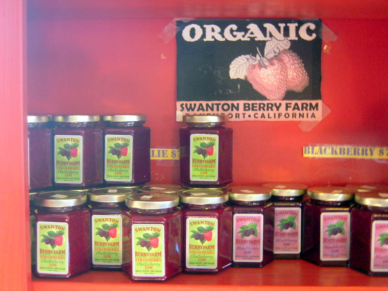 some organic jams from Swanton Berry Farm