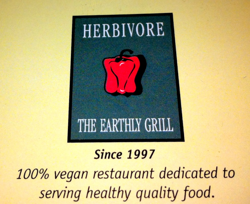 welcome to Herbivore, the Earthly Grill