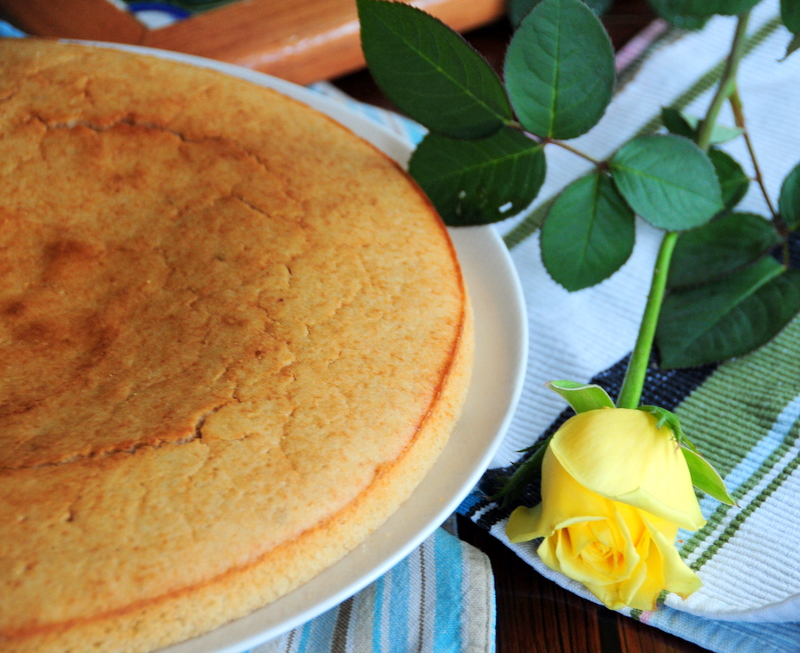 Brazilian style corn cake with Mexican nixtamalized corn flour