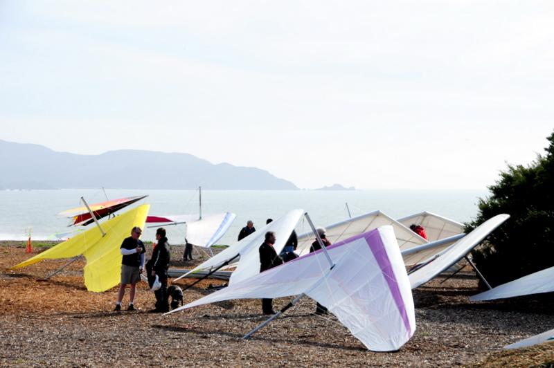 hang-glider airport