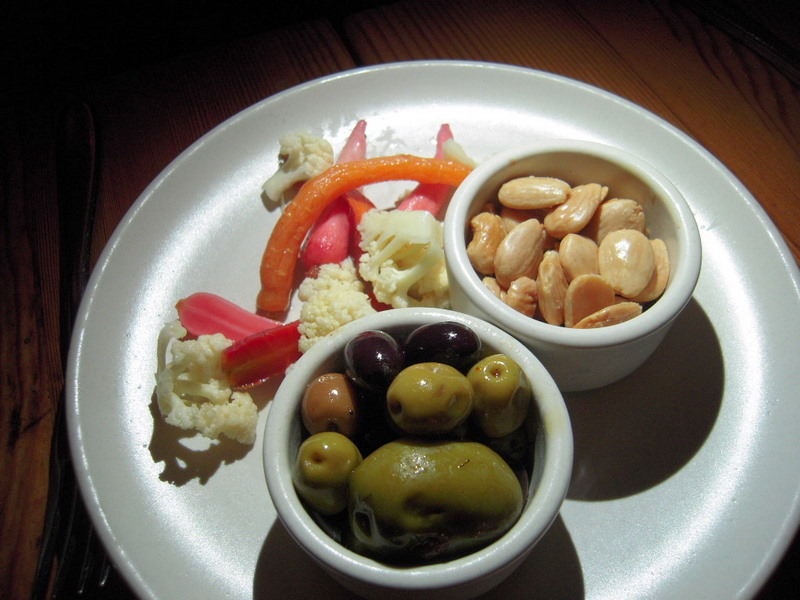 marinated Spanish olives