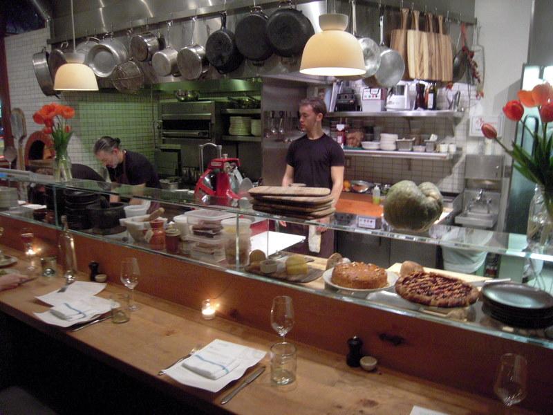 open kitchen at Contigo