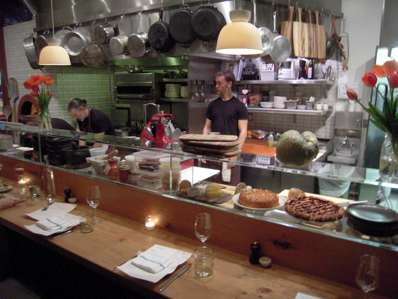 open kitchen at Contigo